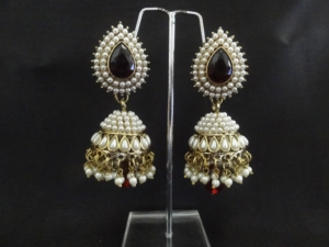 mudhra antique earrings collection candere wedding kalyan a jewellery com