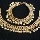Multicolour Stone Studded Bollywood Payal