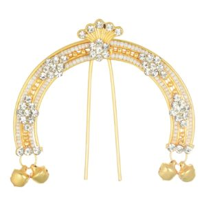 artificial juda pin studded with sparkling stones
