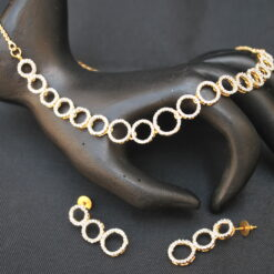artificial amazingly beautiful ad necklace set-1