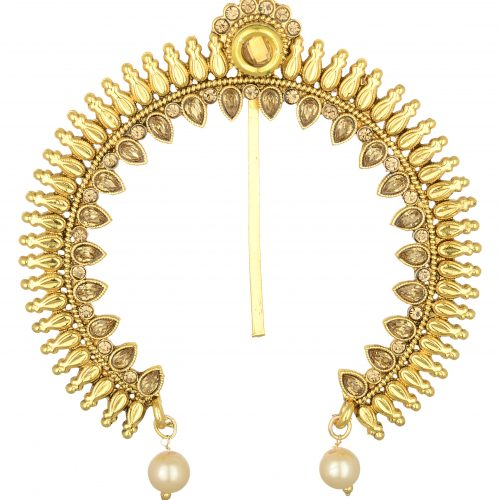 artificial peshwa bajirao inspired juda pin – hair accessory