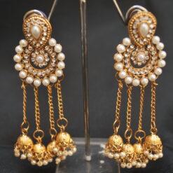 Bahubali Devsena inspired earrings