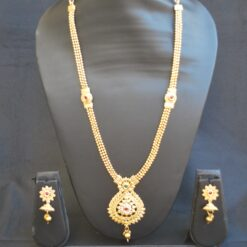 artificial multicolour intricately designed indian wedding jewelry-1