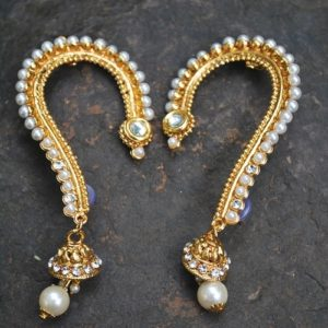 Jai Malhar marathi serial kaan earrings