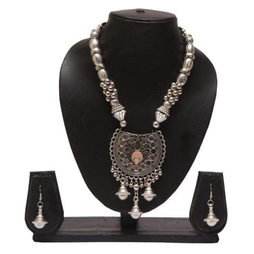 Oxidized jewellery necklace set -navratri jewellery (Copy)