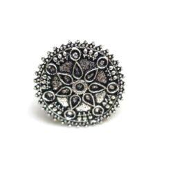 Oxidized jewellery finger rings