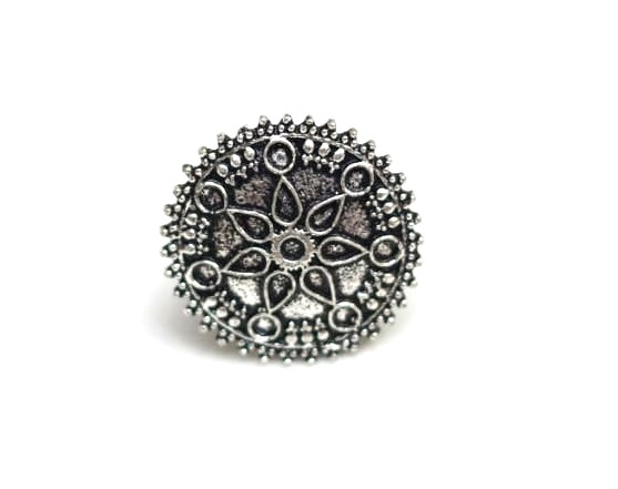 Oxidized jewellery finger rings