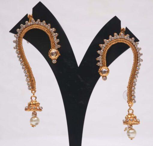 jai malhar mahsla earcuff earrings