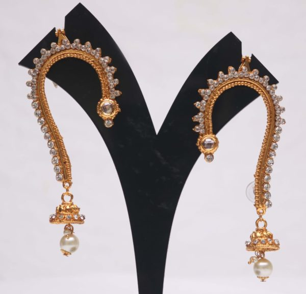 jai malhar mahsla earcuff earrings