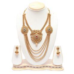Wedding multilayer necklace set online