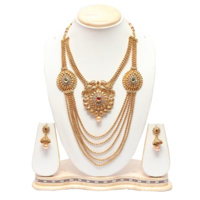 Wedding multilayer necklace set online