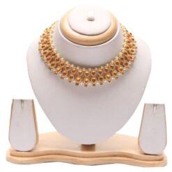 Kundan choker necklace