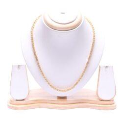 Artificial Designer golden chain - office wear