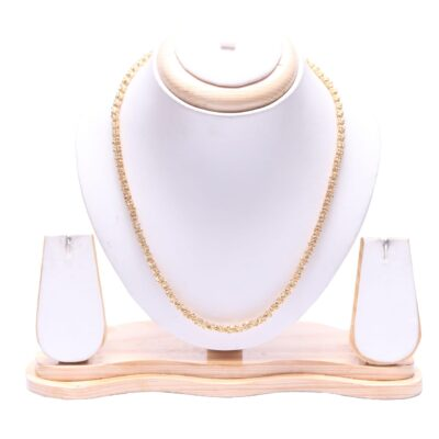 Artificial Designer golden chain - office wear