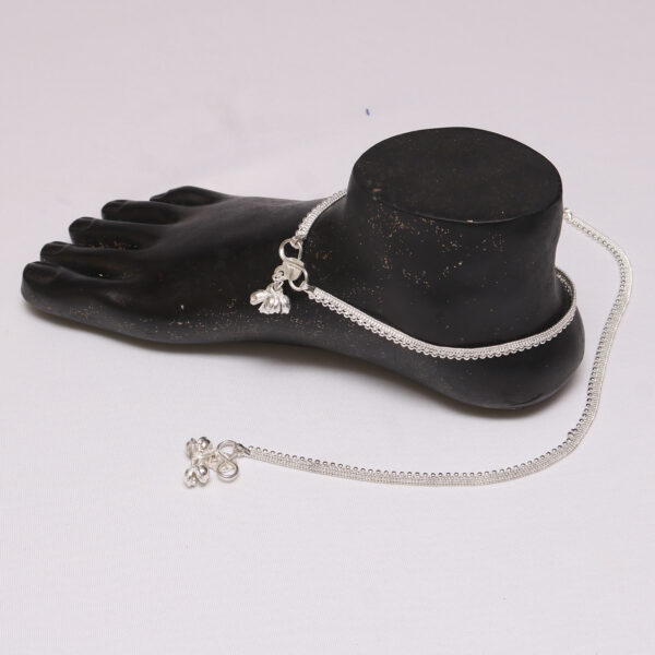 Artificial Silver Anklet for Women