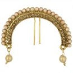 artificial hair accessory pearl embellished juda pin