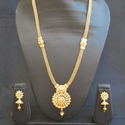 artificial traditional round motif artificial jewellery sets-1