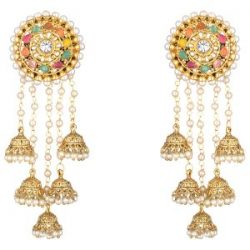 Bahubali Devsena inspired earrings-2