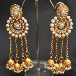 Bahubali Devsena inspired earrings