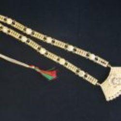 Bridal Necklace set, Long Haram style