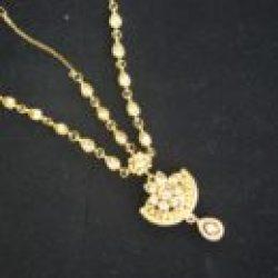 Bridal Necklace set – maang tikka