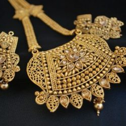 Imitation traditional rajwadi Imitation design long necklace set