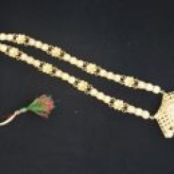 Long haram style necklace