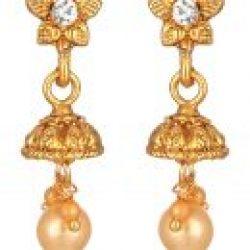artificial beautiful golden necklace set-3