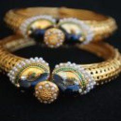 Imitation artificial jewellery bridal peacock motif jadau-2