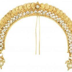 artificial peshwa bajirao inspired juda pin – hair accessory