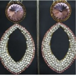 Stone Studded Party Flavour Earrings